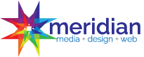 the meridian agency graphic design, media placement, web design